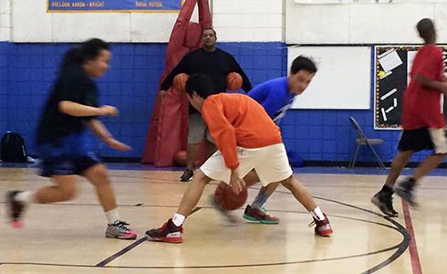 バスケットボール長期留学
