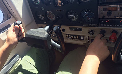 航空機操縦体験留学